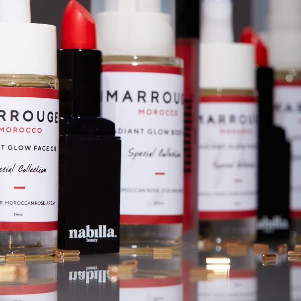 1 huile corps + 1 huile visage + 2 lipsticks au choix