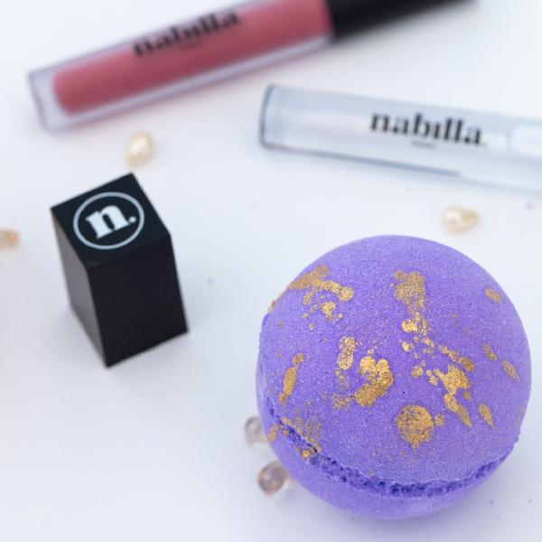 2 lipsticks + 2 bombes de bain